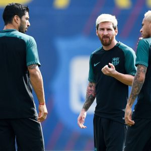 Champions League entrenamiento
