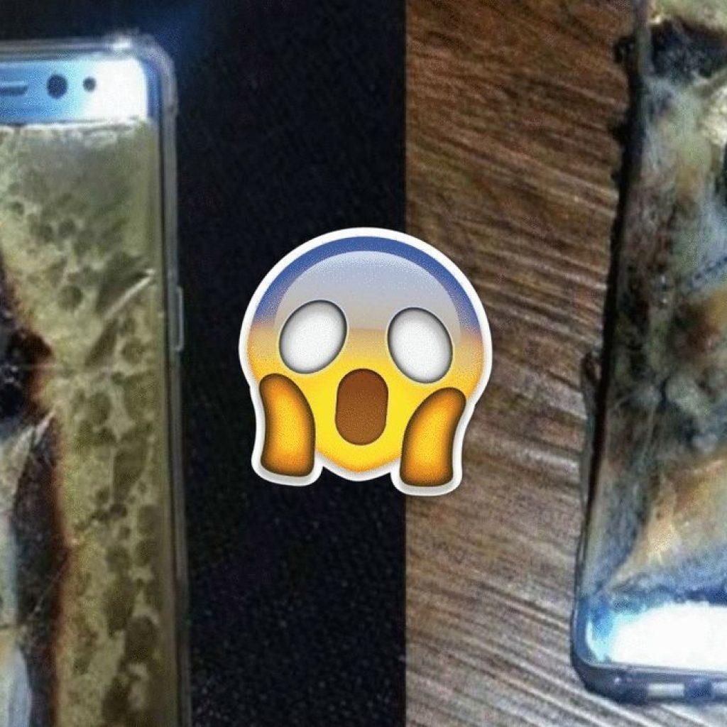 Explosión de Galaxy Note 7
