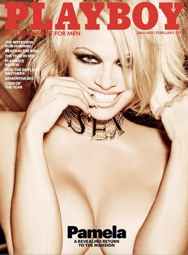 Pamela Anderson, playboy, revista, desnudo