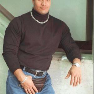WWE La Roca cabello