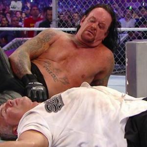 WWE Undertaker cabello