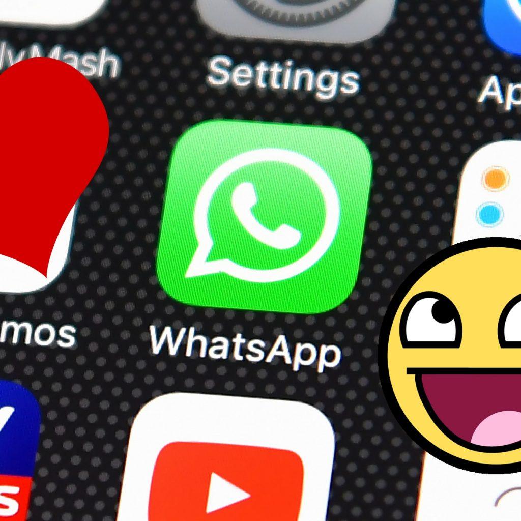 WhatsApp app celular