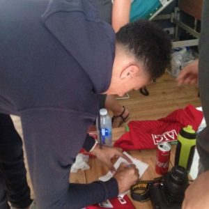 Hincha de Manchester United cumplió su último deseo y murió a los 45 minutos
