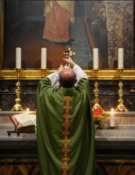 Iglesia altar