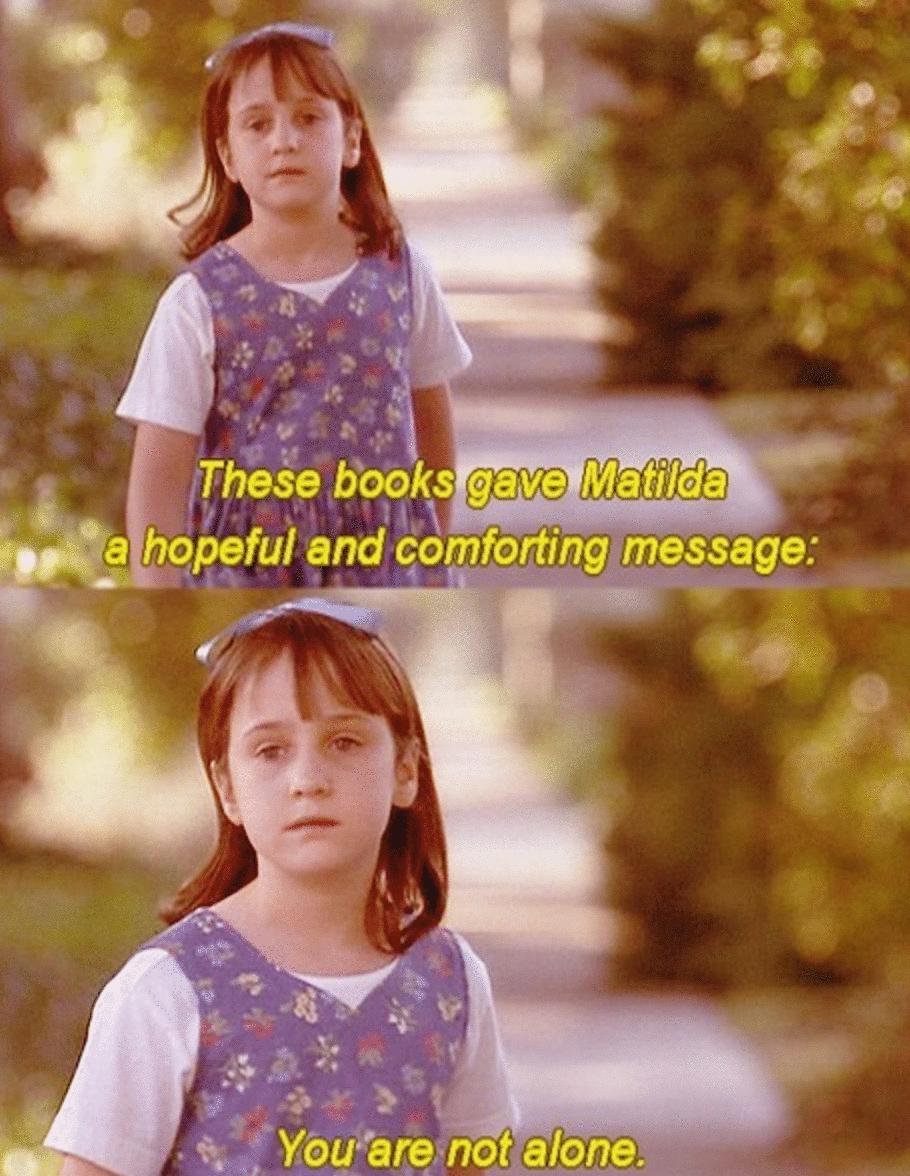 Matilda frases