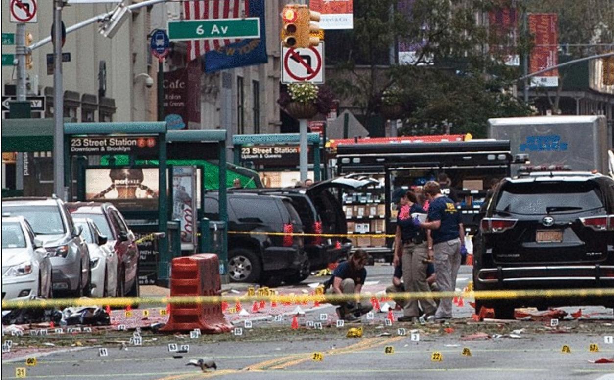 bomba Manhattan foto