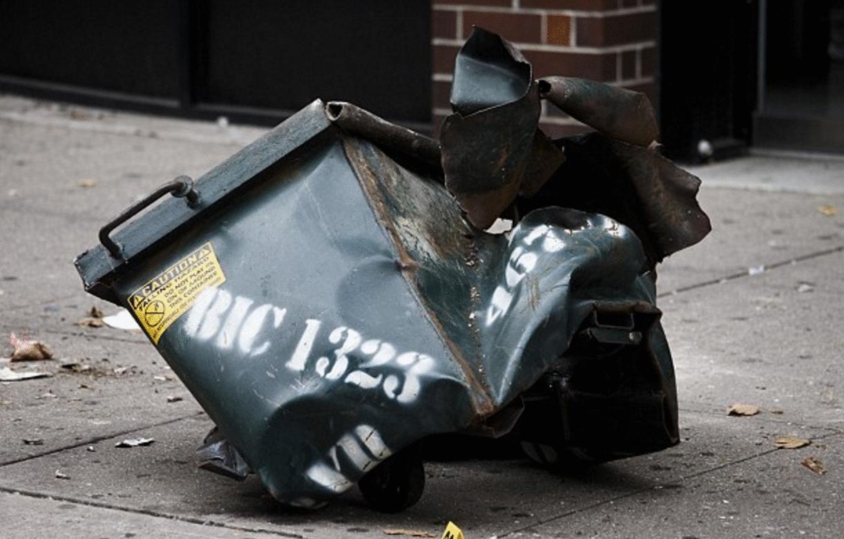 bomba en Manhattan foto