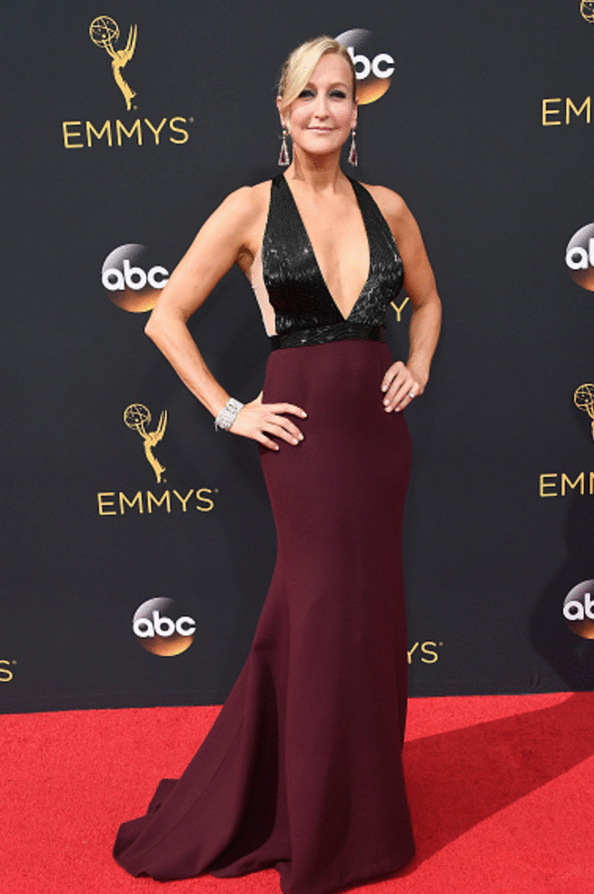 lara spencer premios emmy 2016