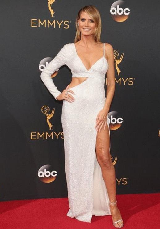 heidi klum Premios Emmy 2016