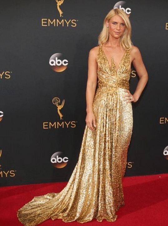 claire Danes Premios Emmy 2016