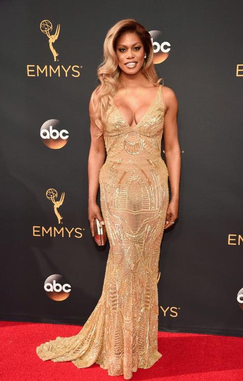 laverne Cox Premios Emmy 2016