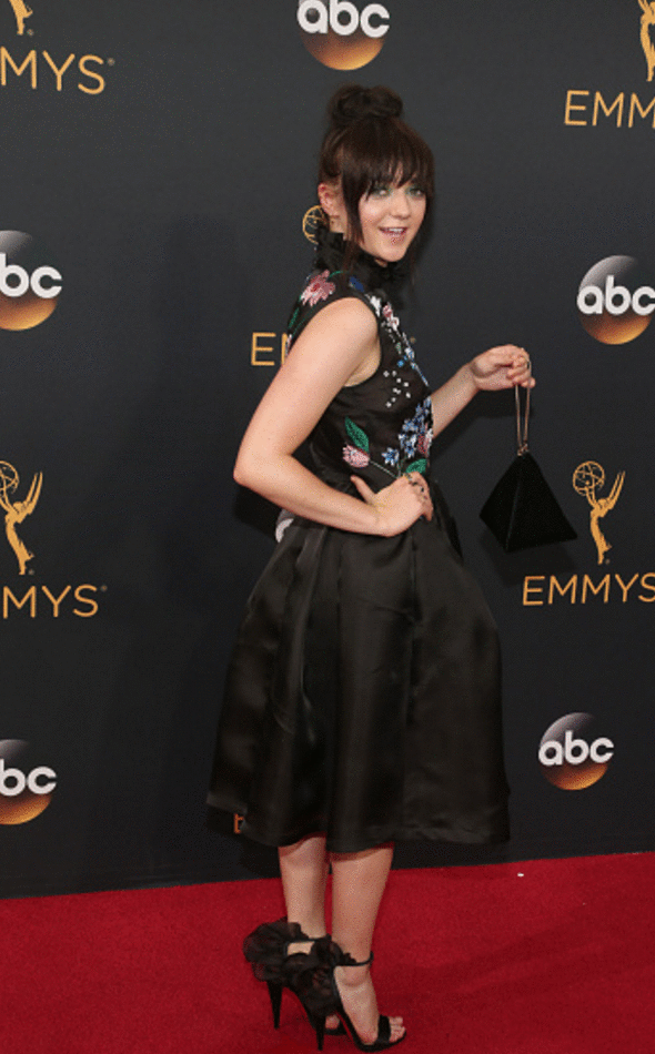 maisie williams emmy 2016