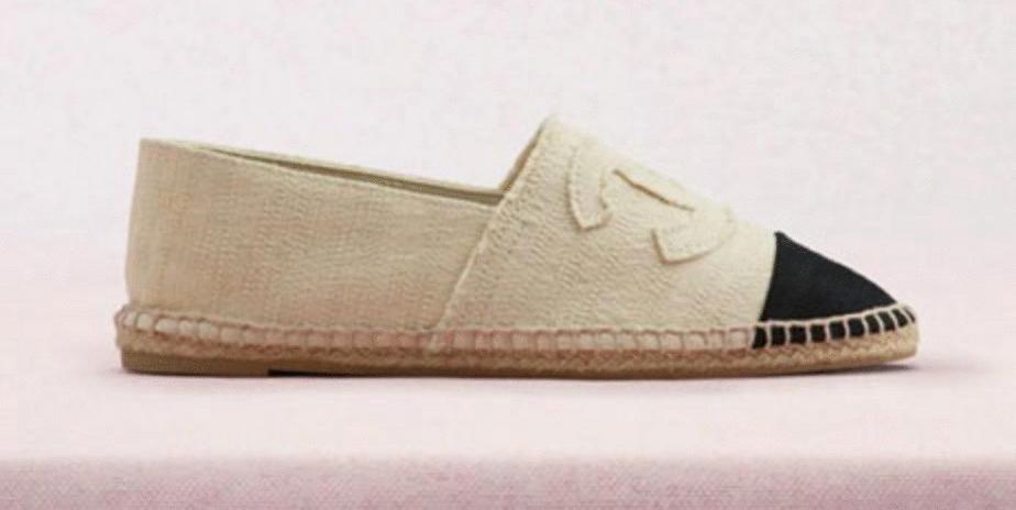 alpargatas Chanel crocs