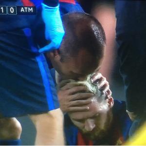 Lionel Messi estará fuera tres semanas