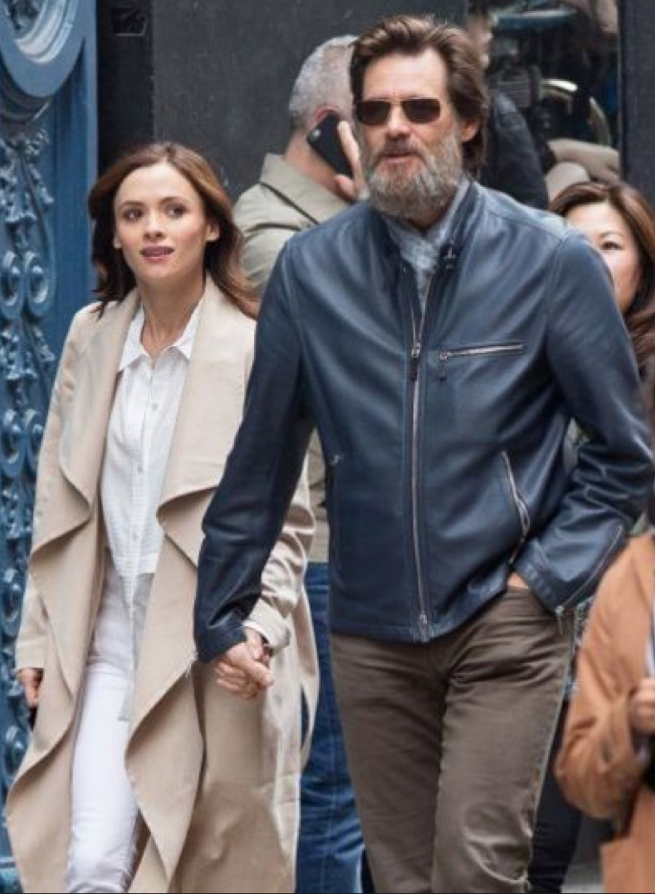 Cathriona White, jim carrey, novia, enfermedad
