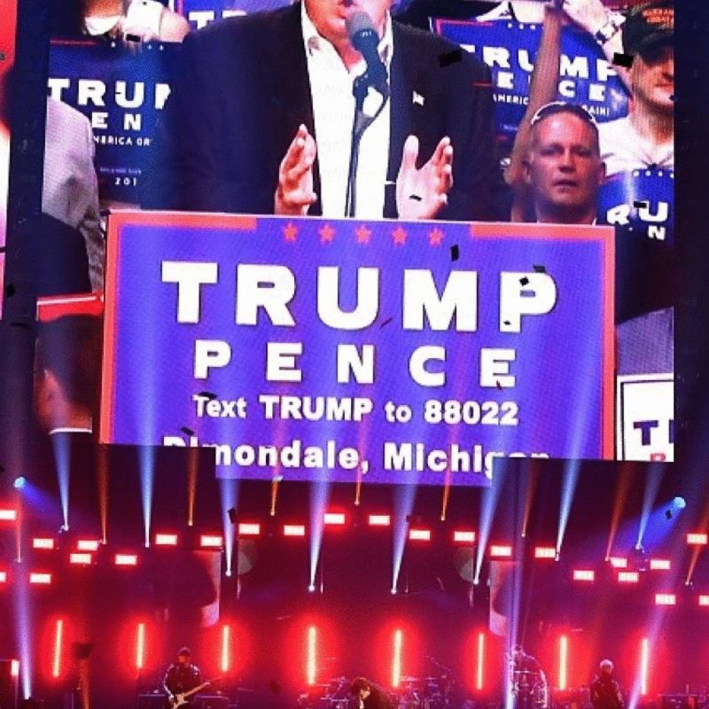 U2 critica a Donald Trump en Las Vegas