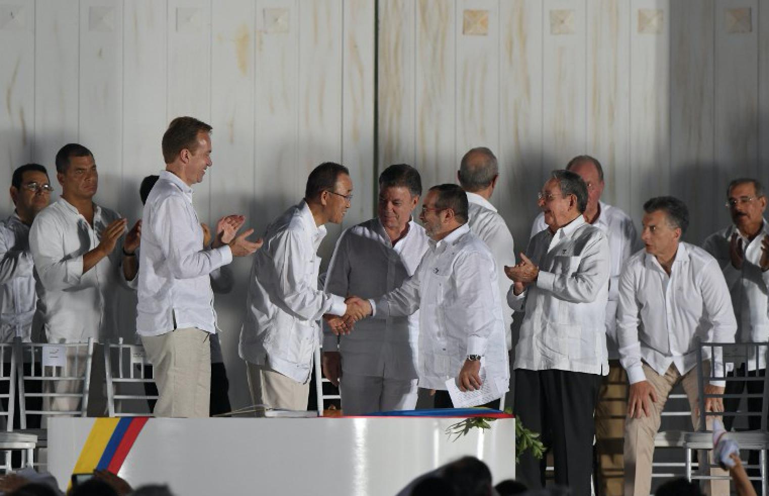 Acuerdo paz Farc gobierno Colombia