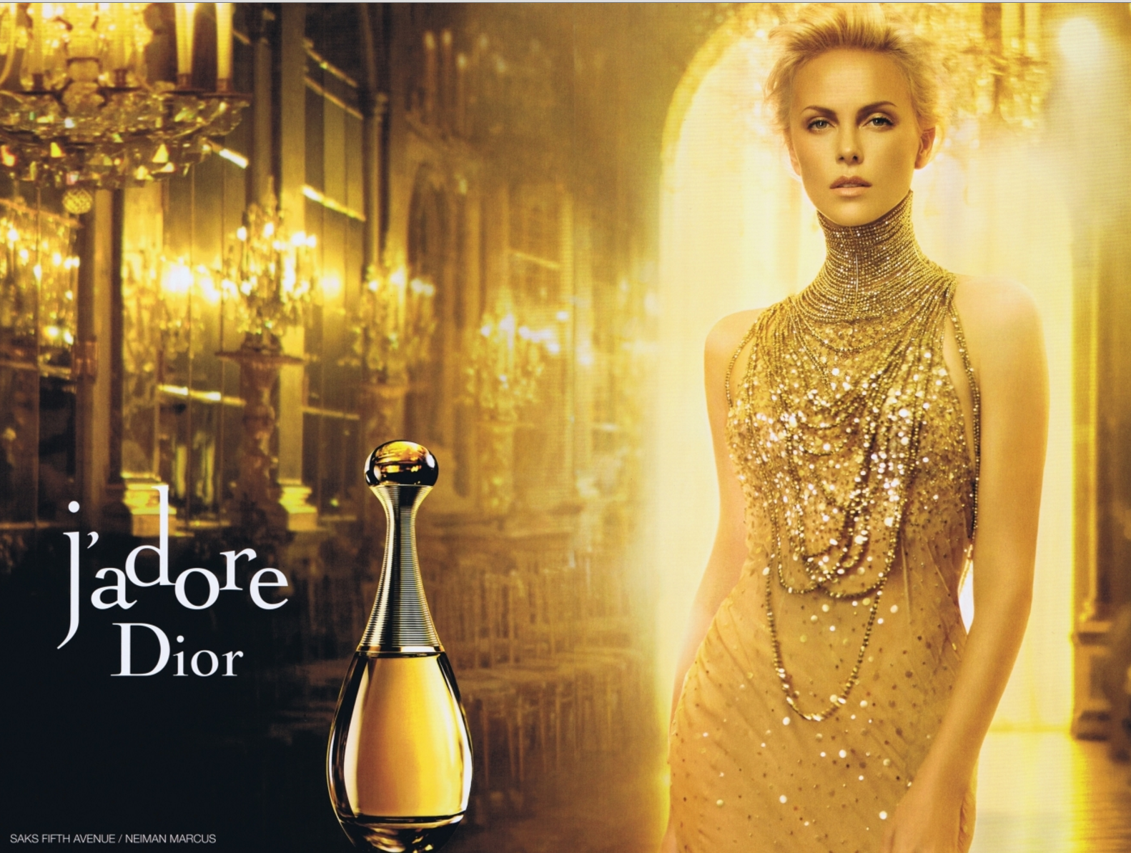Charlize Theron dior