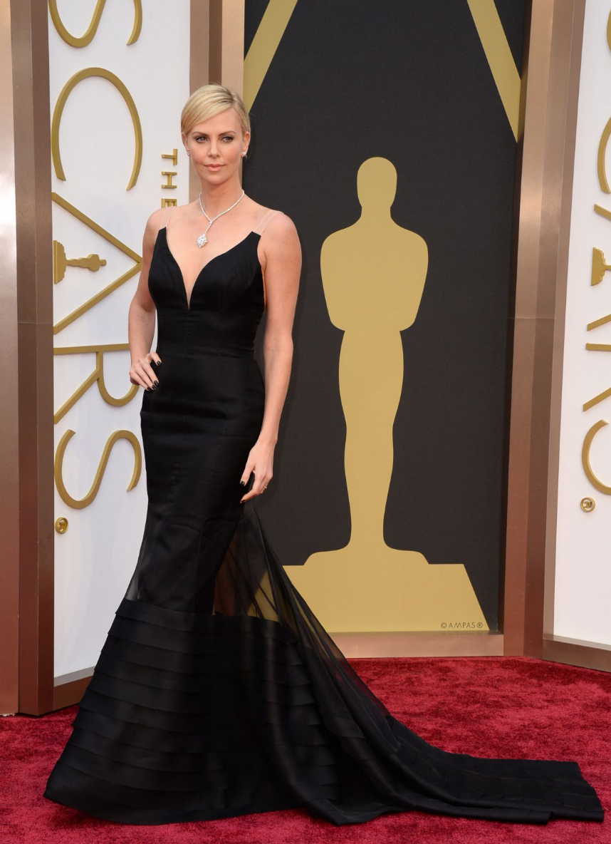 Charlize Theron alfombra roja