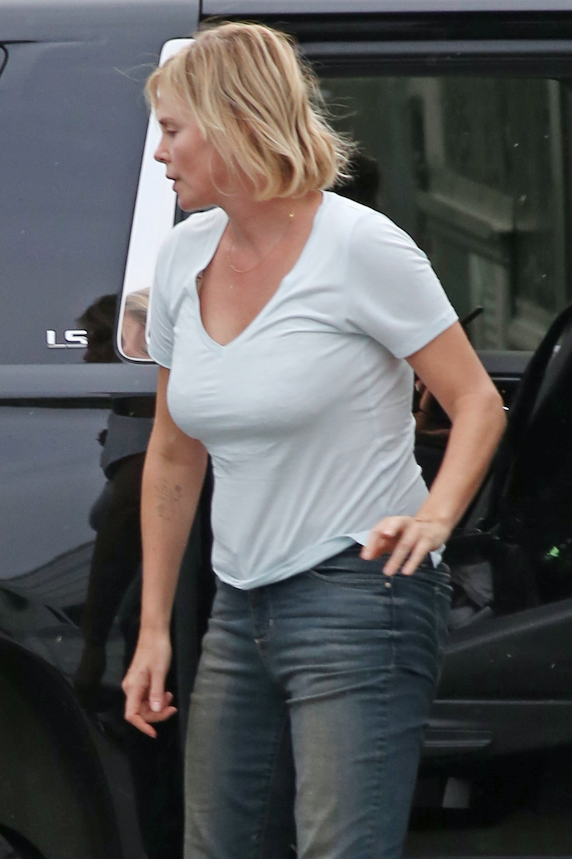 Charlize Theron gorda
