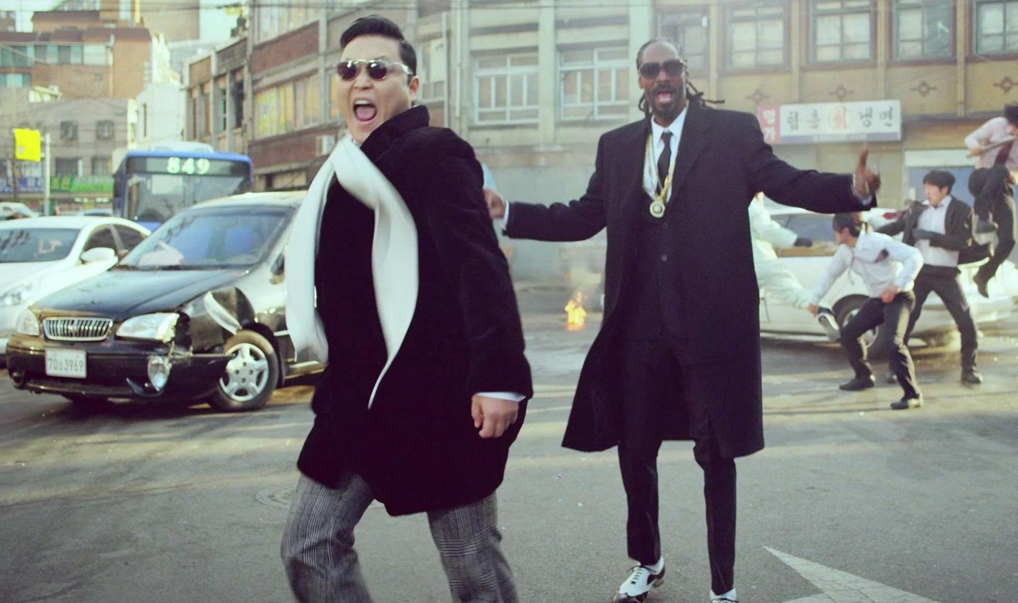 Gangnam Style Snoop Dogg