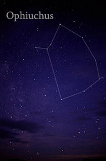 Ofiuco constelación