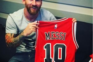 "Lionel Messi ""traiciona"" a Curry y ""ficha"" por Chicago Bulls"