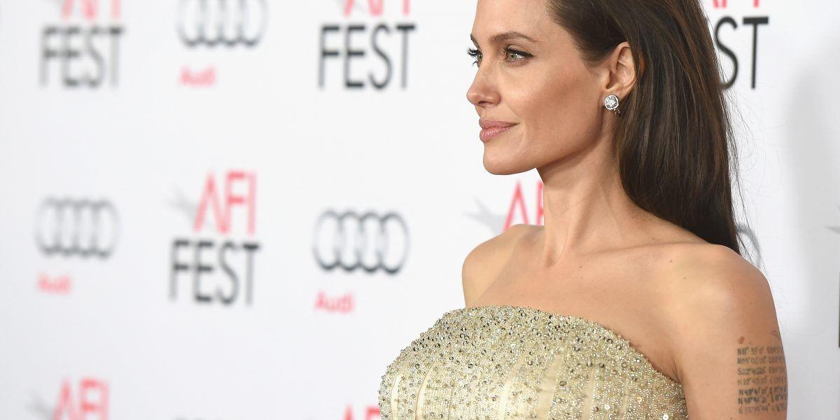 Las primeras imágenes de Angelina Jolie después del divorcio