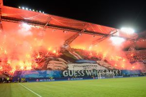 Hinchas del Legia Varsovia fueron detenidos en España