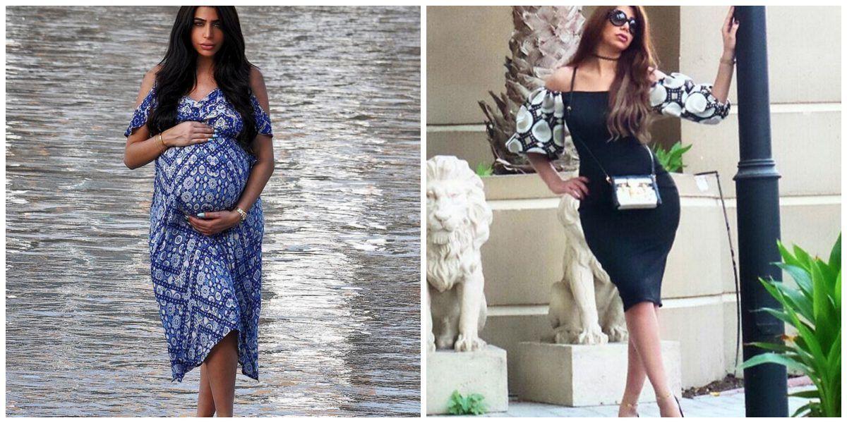 Esposa de Omar Borkan luce mucho más delgada luego de su embarazo