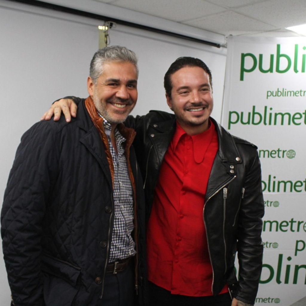 J Balvin y Octavio Rivas