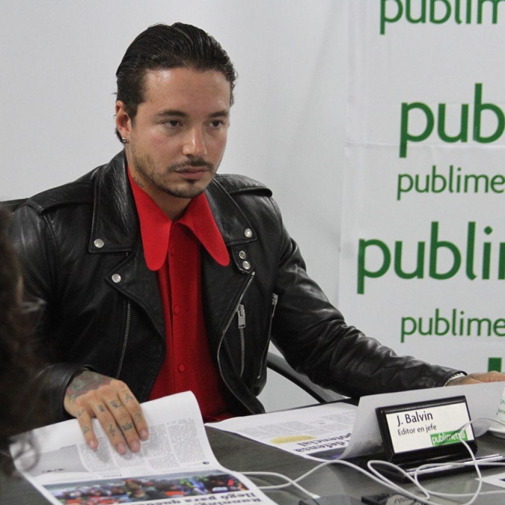 J Balvin editor invitado Publimetro