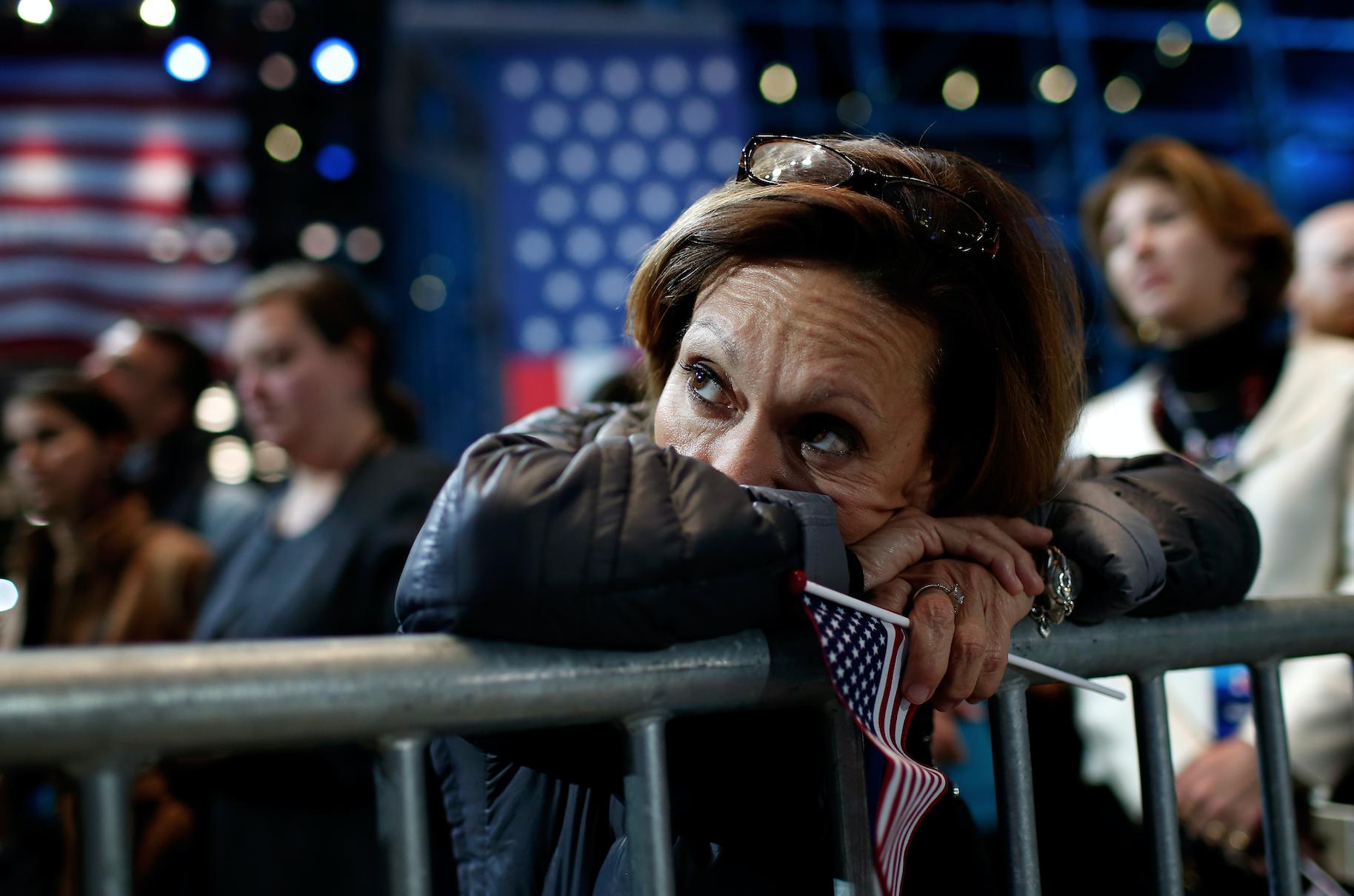 Tristeza muchos estadounidenses trump