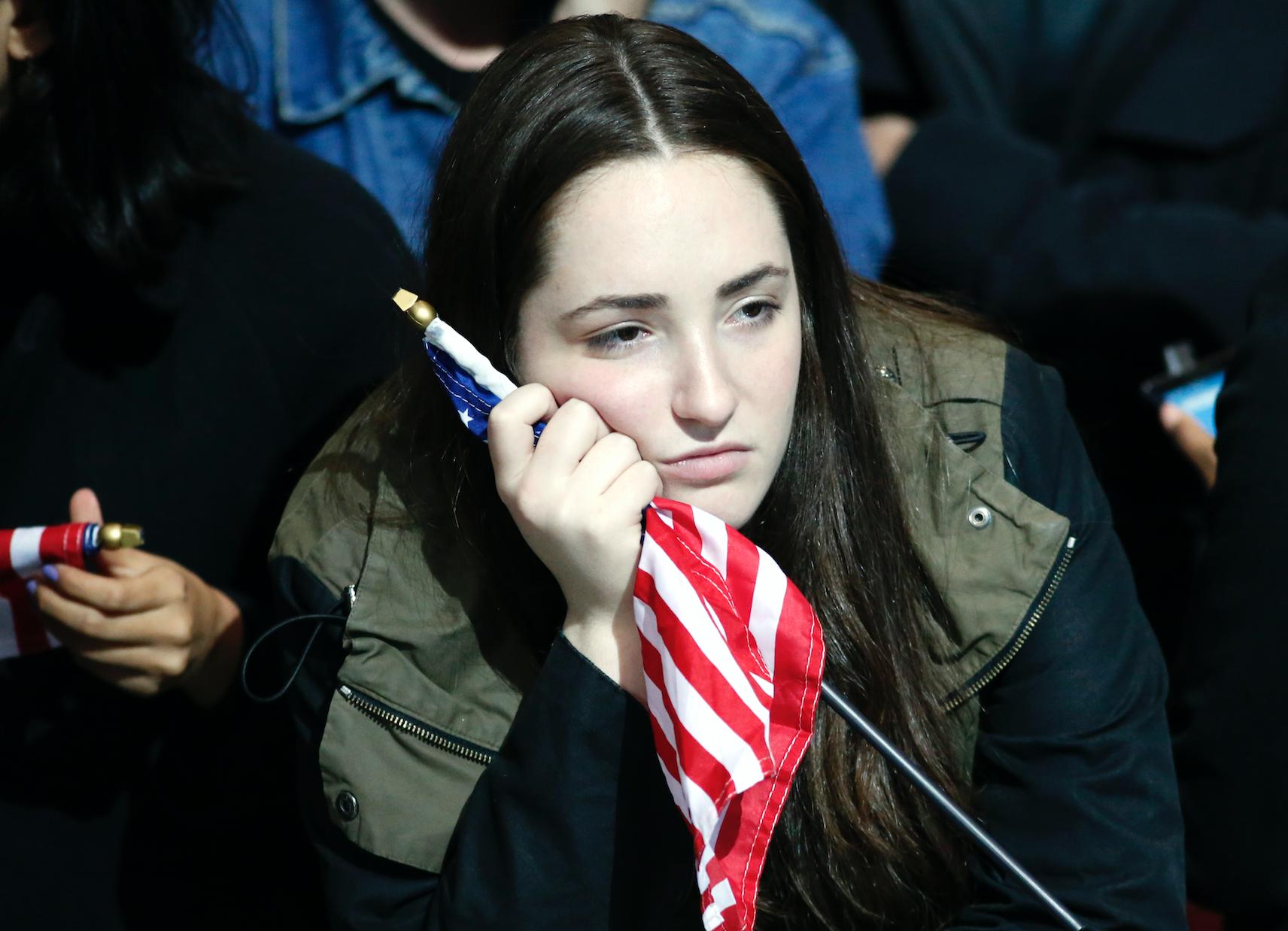 Victoria Trump tristeza