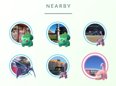Radar Pokémon Go