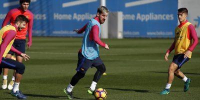 Lionel Messi usó avión del PSG para volver antes a Barcelona. Imagen Por: Twitter Barcelona