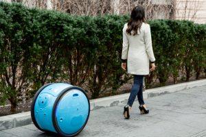Este robot carga tus bolsas y te sigue a donde vayas
