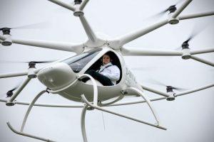 6 vehículos futuristas para volar por la ciudad
