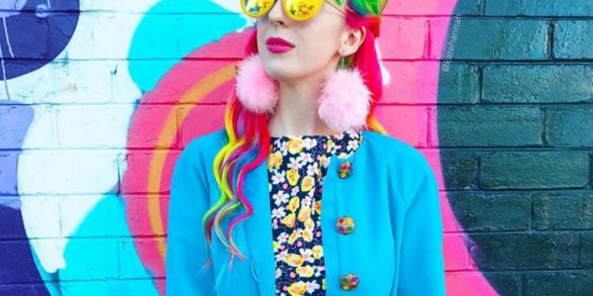 """Kate Hannah: El increíble estilo de la """"Chica Arcoíris"""""""