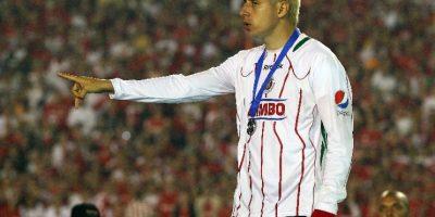 """Foto:""""El Bofo"""" y su guante mágico, capaz de generar problemas / MexSport"""