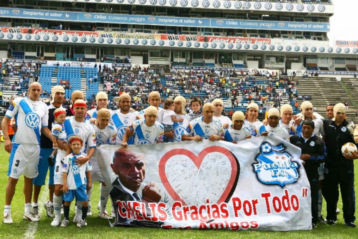 """Foto:Los jugadores poblanos están """"pelones"""" / MexSport. Imagen Por:"""