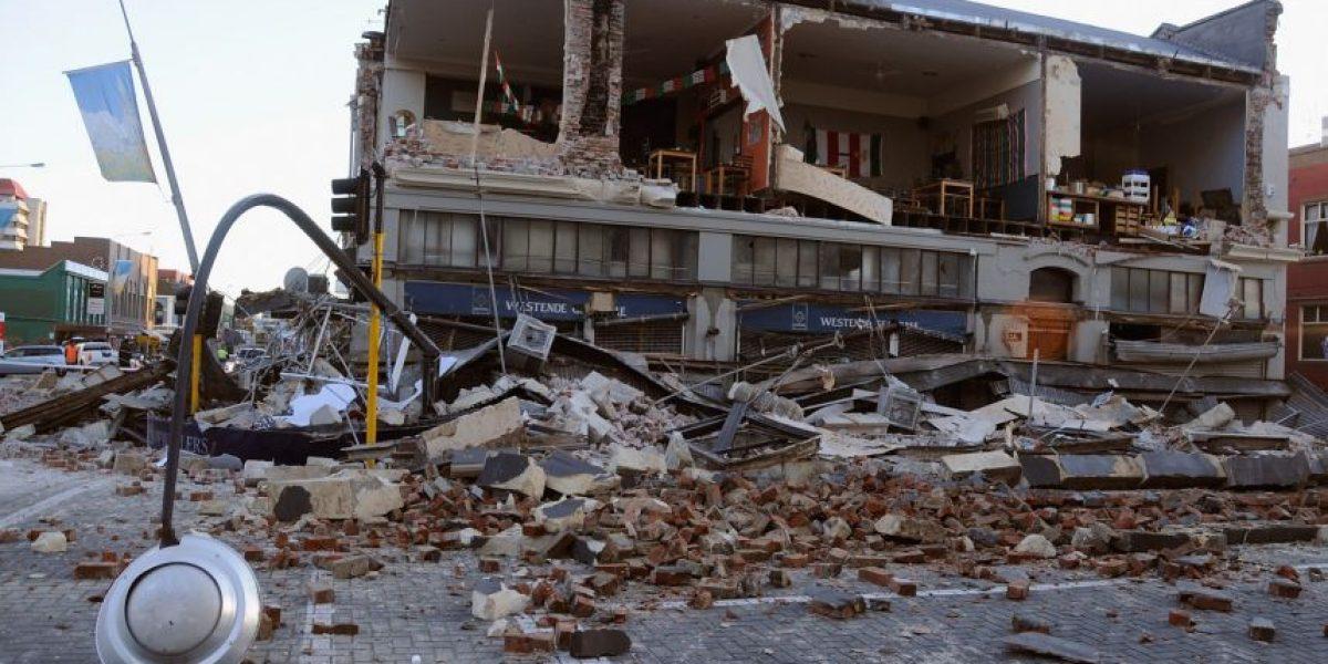 Colapsa Nueva Zelanda tras temblor de magnitud 7.1