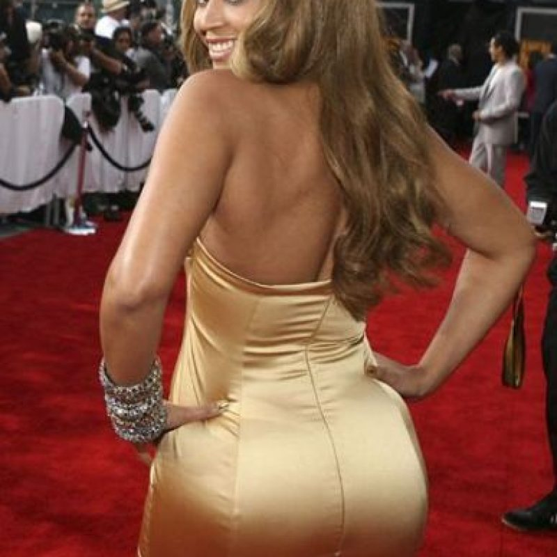 Foto:Beyonce también entra en la competencia de los traseros más famosos del orbe. Imagen Por: