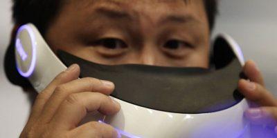 La tecnología 3D sigue empujando fuerte. Aquí un visor Foto:AP