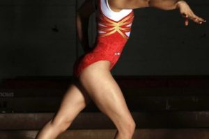 Elsa García Rodríguez Blancas, 8 de febrero de 1990, es un gimnasta mexicana de Monterrey. Entrena en el Regio Club Gimnástico donde la describen como una gimnasta de trabajo duro. Es actualmente una de las gimnastas mexicanas mejor calificadas y sobresalientes. Foto:Mexsport. Imagen Por: