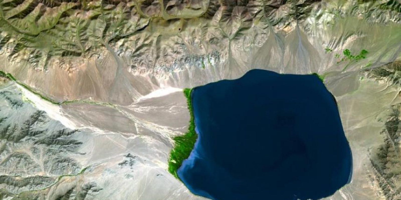 Uvs Nuur Basin, Mongolia Foto:NASA