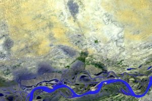 Timbuktu, Mali, al oeste de África Foto:NASA. Imagen Por: