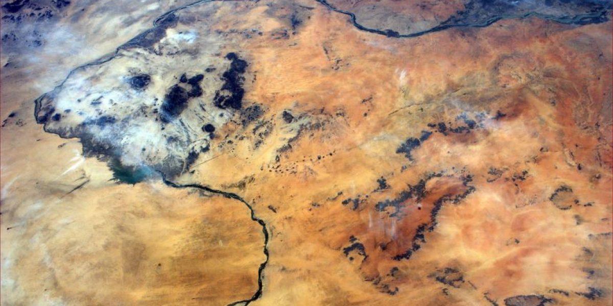 """El """"arte espacial"""" retrata una Tierra impresionista"""