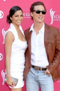 Camila Alves y Matthew McConaughey Foto:Tomada de internet