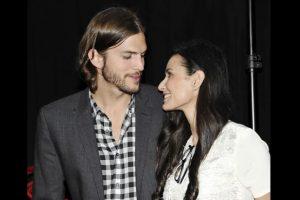 Demi Moore y Ashton Kutcher Foto:AP. Imagen Por: